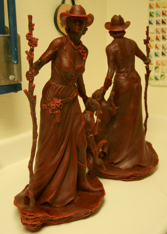Finished Wax for Bronze