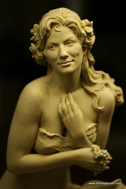 "It was a ""Joy"" to sculpt ""Joy"" again. I do love her!"