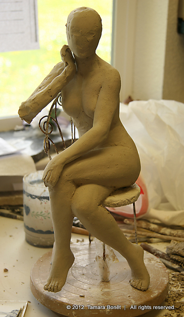So much to do but after one session of sculpting, is to be expected.
