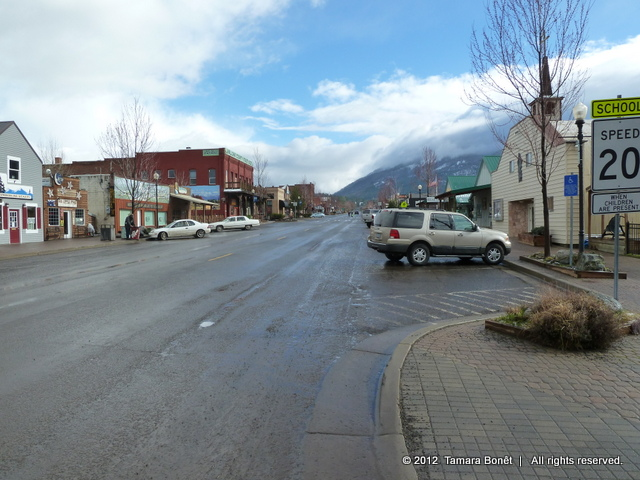 The town of Joseph, Oregon is nice little town.