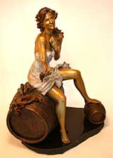 The Return of Joy Bronze Sculpture